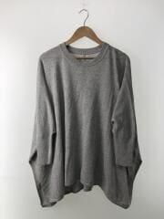 セーター(薄手)/FREE/コットン/GRY/リネン混/20-080-200-6100-1-0