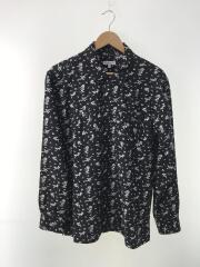 20SS/Day Ton Shirt Floral Jacquard/M/コットン/BLK/花柄/使用感有