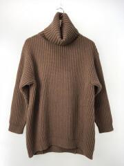 セーター(厚手)/XXS/ウール/BRW/19A173