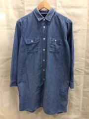 シャンブレーシャツシャツ/FREE/デニム/IDG/無地/NT3459N