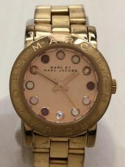 エイミー/クォーツ腕時計/アナログ/ステンレス/PNK/GLD/MBM3216