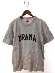 2019/DRAMA Tee/ドラマTシャツ/L/コットン/GRY/無地