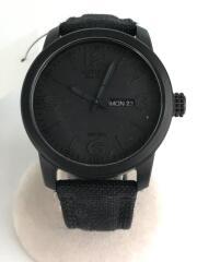 シチズン/クォーツ腕時計/アナログ/キャンバス/BLK/E101-S064783/ECO-DRIVE