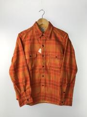 ネルシャツ/XL/コットン/ORN/チェック