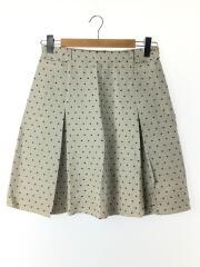 スカート/42/コットン/GRY/ドット