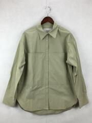 2021SS/Taffeta Pocket Shirts/FREE/コットン/KHK