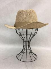 麦わら帽子/中折れ帽/ストローブレードハット/リボン