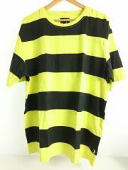 クルーネック半袖Tシャツ/Bold Stripe/1140119/ボーダー/ストライプ