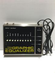 TEN BAND GRAPHIC EQUALIZER TEN BAND GRAPHIC EQUALIZER/1978年製/イコライザー/箱付属