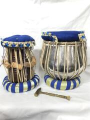 タブラ&バーヤセット/パーカッション/民族打楽器/パトゥリ(チューニングハンマー)付き