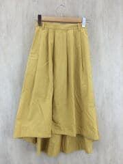 スカート/36/コットン/YLW/無地/3624-105-1320/タイプライタースカート