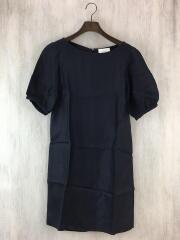 rene dress/半袖ワンピース/0/コットン/BLK/無地