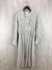 2019model/Linen Gather Coat リネンギャザーコート/38/ベーシュ