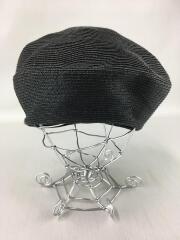 ペーパーブレードベレー帽/紙/ブラック