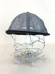 17SS/Metallic Mesh 6-Panel Hat/--/ポリエステル/GRY/グレー/無地