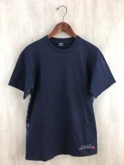 Tシャツ/M/コットン/NVY