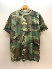 Tシャツ/M/コットン/カーキ/カモフラ/シュプリーム