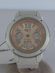 クォーツ腕時計・Baby-G/デジアナ/WHT