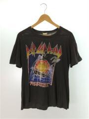 DEFLEPPARD/バンドTee/Tシャツ/M/コットン/黒