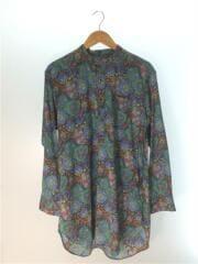 エンジニアードガーメンツ/20SS/Banded Collar Long Shirt Floral Print