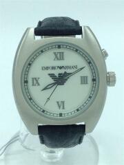クォーツ腕時計/アナログ/レザー/AR-5112