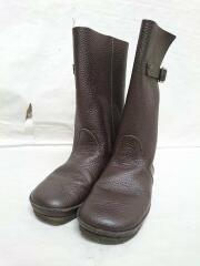 VERONIQUE/ブーツ/35/BRW/レザー