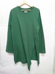 17SS/slit sleeve./17SS-B-CS04/スリット/カットソー/1/コットン/グリーン/緑