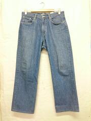 20SS/WASHED HARD TWIST DENIM 5P PANTS/ボトム/34/コットン/IDG