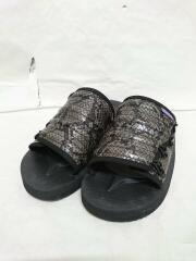 Purple Label/19SS/Elastic Strap Sandal- Python Embossed/27cm