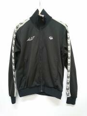 ×arena/トラックジャケット/ジャージ/S/ARJA01H/ポリエステル/ブラック/サイドライン