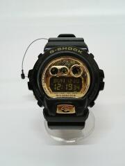 クォーツ腕時計/G-SHOCK/デジタル/ブラック/GD-X6900FB-JF/ラバー/ゴールド
