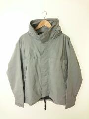 19AW/HIGH NECK MOUNTAIN PARKA/マウンテンパーカ/S/ナイロン/グレー/ハイネック