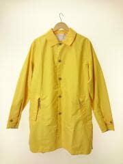 Soutien Collar Coat/SUBS805/ステンカラーコート/M/ナイロン/イエロー/無地