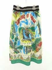 スカート/130cm/ポリエステル/スカーフスカート