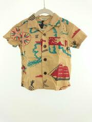 半袖シャツ/100cm/コットン