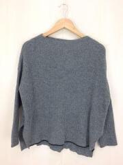 ハイネックセーター(厚手)/--/ウール/GRY