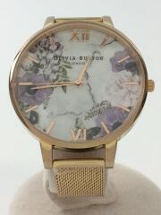 クォーツ腕時計/アナログ/GRY/OBW0573/オリビアバートン