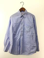TRAVELAR SHIRT/436-0110006/APPLETREES/長袖シャツ/M/コットン/BLU