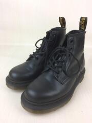 10064/6ホール/ブーツ/UK4/BLK/レザー/ドクターマーチン