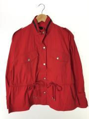 ジャケット/FREE/600-8121013/コットン/RED/ローズバッド