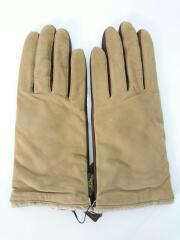 手袋/羊革/ブラウン/裏地ウール・カシミア