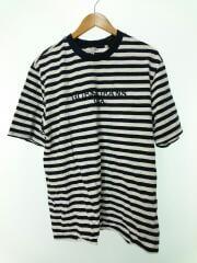 Tシャツ/L/コットン/NVY/ボーダー/ASAP ROCKY