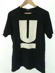 Tシャツ/L/コットン/NVY