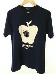 Tシャツ/L/コットン/NVY/K9814