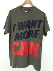 Tシャツ/M/コットン/GRY/UCT9803