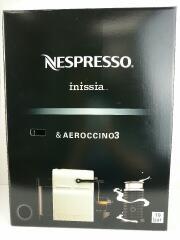 コーヒーメーカー Nespresso Inissia バンドルセット D40BK-A3B/2018年製