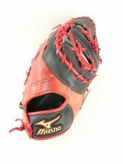 野球用品/右利き用/RED/mizuno/softball/グローブ