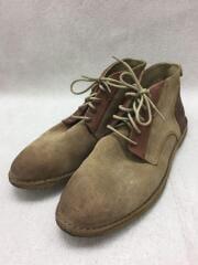 ブーツ/43/BRW/スウェード/キッカーズ