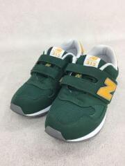キッズ靴/21cm/スニーカー/GRN