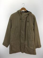 コート/M/コットン/70年代/フードコート/裾汚れ有